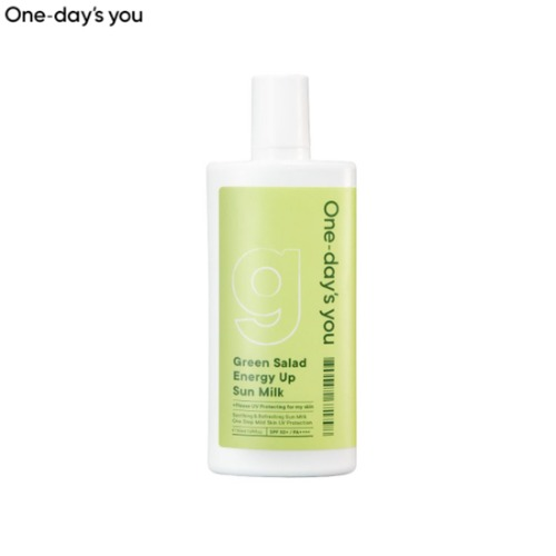ONE-DAY'S YOU Green Salad Energy Up Sun Milk SPF50+ PA++++ 50ml