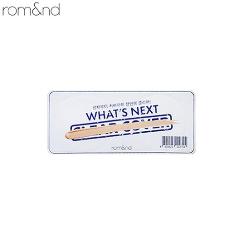 [mini] ROMAND Clear Cover Cushion SPF50+ PA+++ 1.5g,Beauty Box Korea