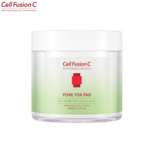 CELL FUSION C Tre.AC Pore Tox Pad 60ea 140ml