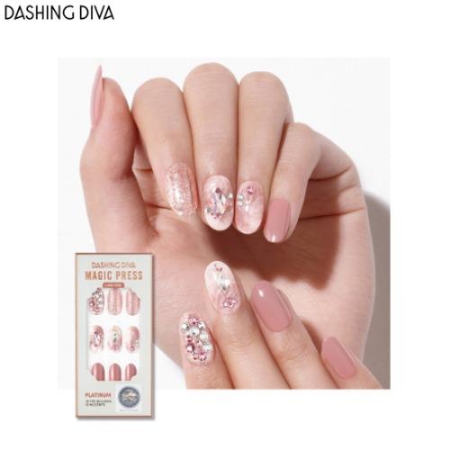 DASHING DIVA Magic Press 1ea [Wedding Platinum]