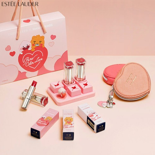 ESTEE LAUDER Love Lipstick X LITTLE FRIENDS Edition Set 3items [ESTEE LAUDER X LITTLE FRIENDS]
