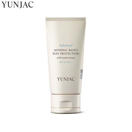 YUNJAC Babyhood Mineral Based Sun Protection SPF43 PA+++ 50ml