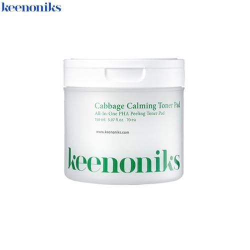 KEENONIKS Cabbage Calming Toner Pad 150ml