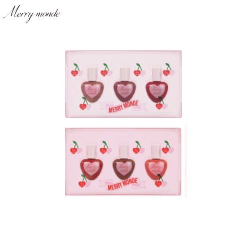 MERRY MONDE Cherry Heart Tint Kit 3items