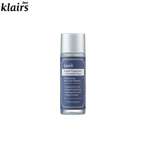 [mini] KLAIRS Supple Preparation Unscented Toner 30ml