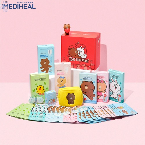 MEDIHEAL Line Friends Be Mine Special Set 9items [MEDIHEAL X LINE FRIENDS]