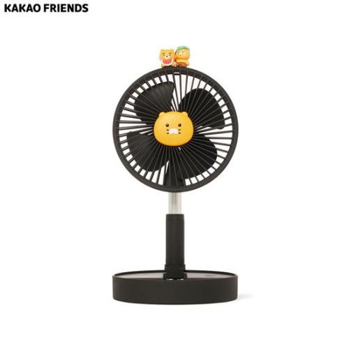 KAKAO FRIENDS Height Adjustable Desk Fan_Ryan & Chunshik 1ea