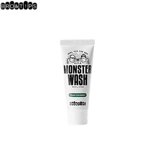 [mini] BRO&T!PS Monster Wash & Scrub Foam Cleansing 40ml,Beauty Box Korea,Other Brand,Other