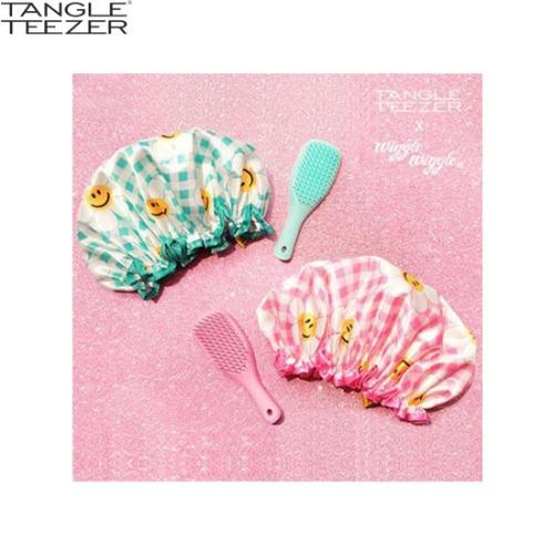 TANGLE TEEZER X WIGGLE WIGGLE Wet Detangler Mini Hairbrush Set 2items