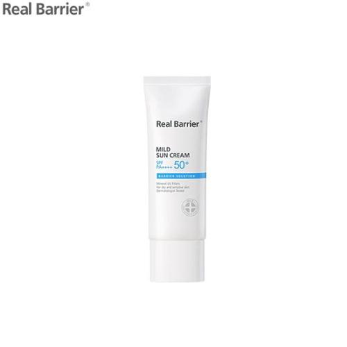 REAL BARRIER Mild Sun Cream SPF50+ PA++++ 40ml