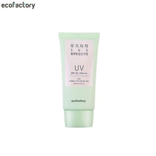 ECOFACTORY Inorganic 365 Velvet Tone Up Sun Cream SPF35/PA+++ 50ml