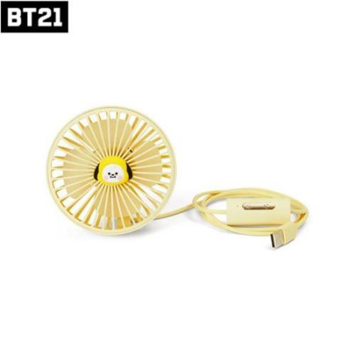 LINE FRIENDS BT21 Car LED Lighting Air Fan 1ea