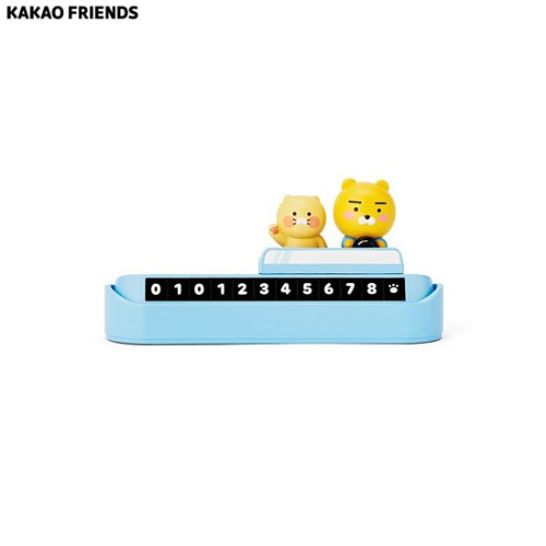 KAKAO FRIENDS Figure Phone No. Plate_Ryan&Choonsik 1ea