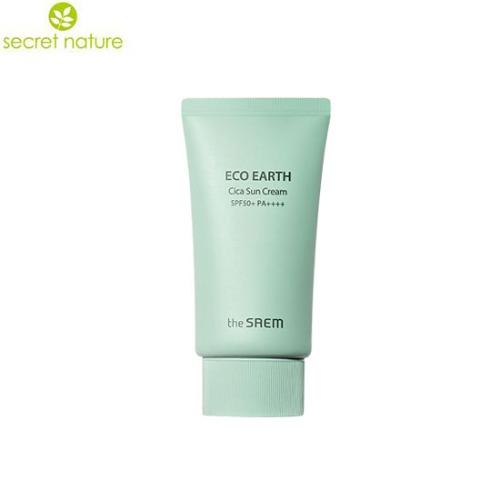 SECRET NATURE Eco Earth Cica Sun Cream SPF50+ PA++++ 50g