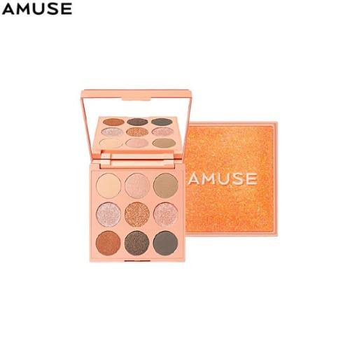 AMUSE Eye Palette 02 Sunlit 9g (1.1g*6ea/0.8g*3ea)