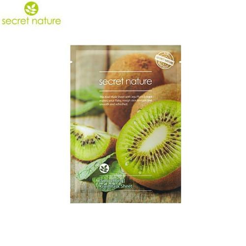 SECRET NATURE Kiwi Mask Sheet (Smoothing) 25ml
