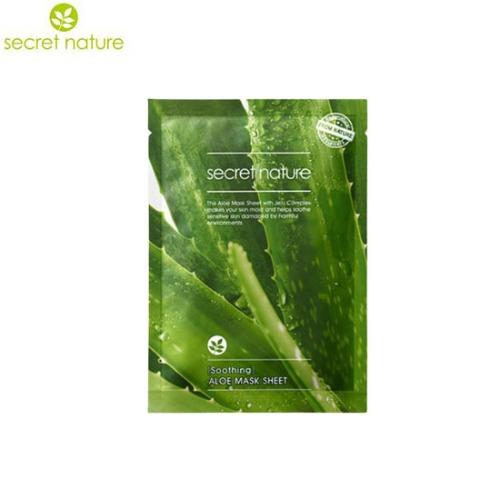 SECRET NATURE Aloe Mask Sheet (Soothing) 25g