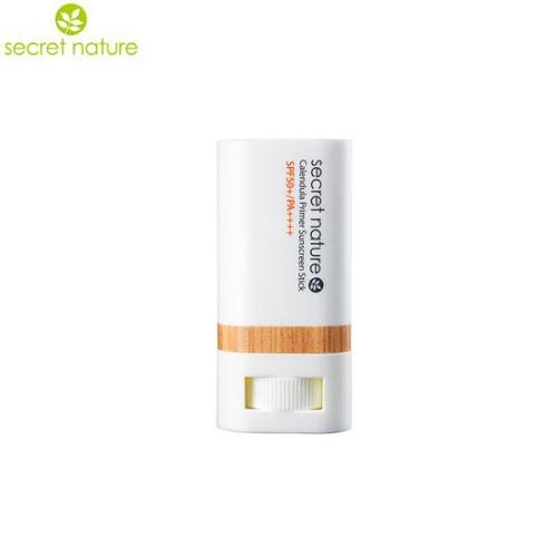 SECRET NATURE Calendula Primer Sunscreen Stick SPF50+/PA++++ 20g