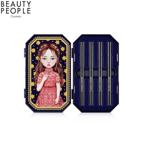 BEAUTY PEOPLE Lofty Girl Doll Eye Special Make-Up Set. Season5 0.3g*4ea