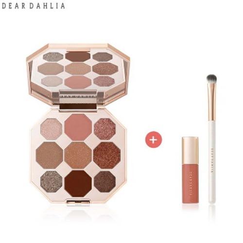 DEAR DAHLIA Timeless Bloom Collection Palette with Brush & Lip Mousse Mini Set 3items,Beauty Box Korea,DEAR DAHLIA ,KOLMAR Korea