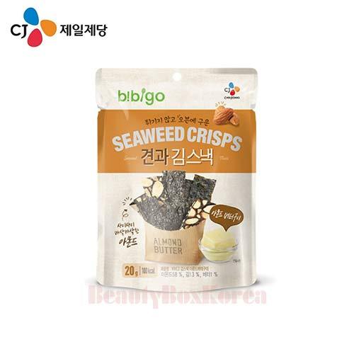 CJ Bibigo Seaweed Crisps Almond Butter Flavor 20g,CJ