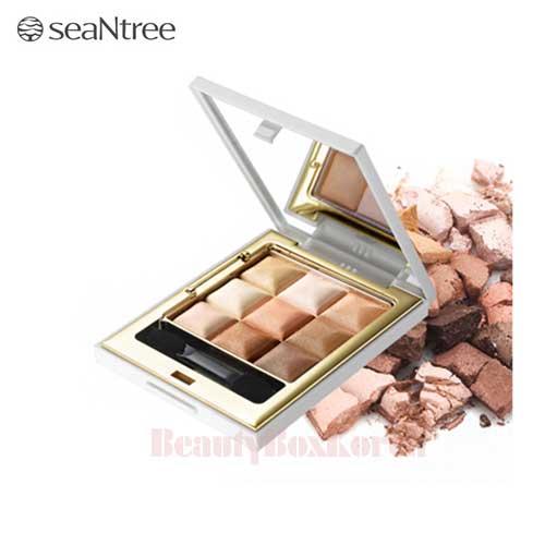 SeaNtree 3X3 Cube Eye Shadow 10g,SEANTREE