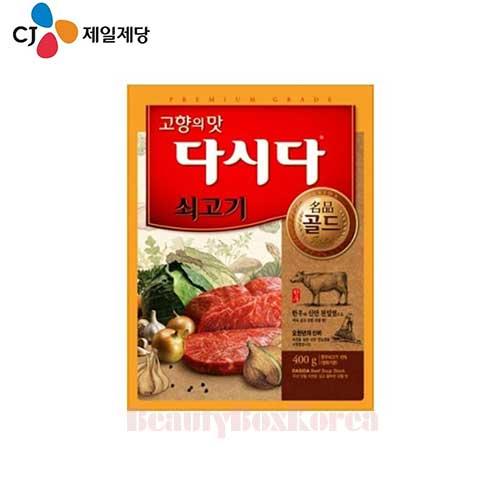 CJ Dasida Beef Soup Stock Gold 400g,CJ