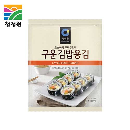 CHUNGJUNGONE Roasted Sushi Laver 10heet 20g,CHUNG JUNG ONE