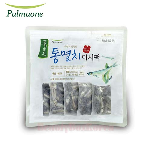 PULMUONE Natural Umami Anchovy Dried Sauce Pack 18g*10ea,PULMUONE