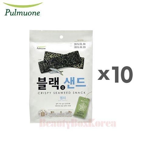 PULMUONE Crispy Seaweed Snack Anchovy 20g*10ea,PULMUONE