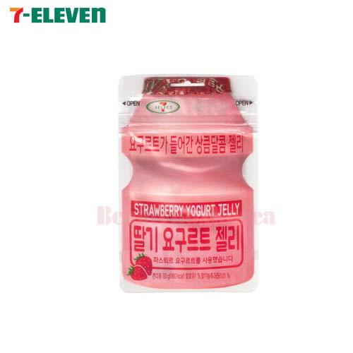 SEVEN ELEVEN Strawberry Yogurt Jelly 50g,Own label brand
