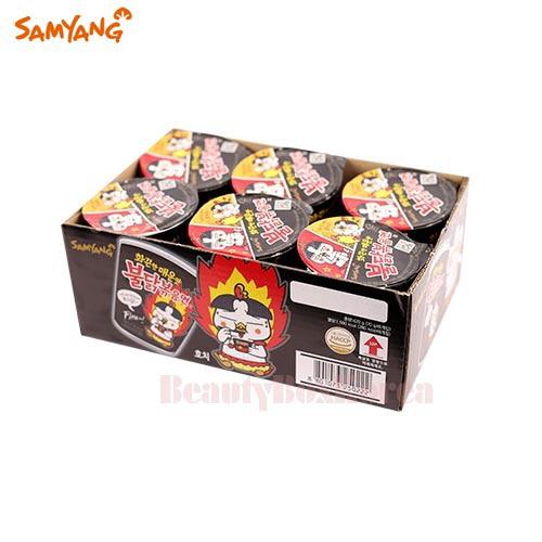 SAMYANG Spicy Fried Noodle Buldak Bokkeummyun Cup 70g*6ea,SAMYANG