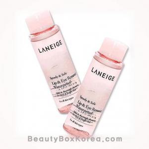 [mini] LANEIGE lip and Eye Remover Waterproof 25ml 2ea,LANEIGE