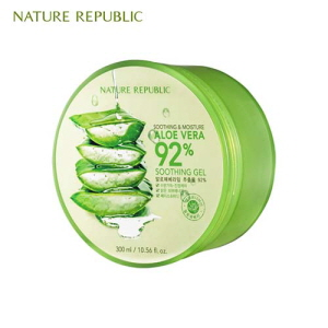 NATURE REPUBLIC Soothing & Moisture Aloe Vera 92% Soothing Gel 300ml [WS],NATURE REPUBLIC