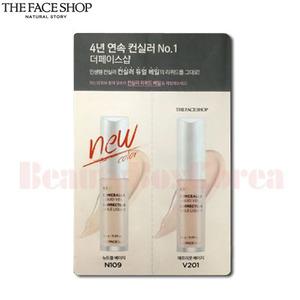 [mini] THE FACE SHOP Concealer Liquid Veil 1ml+1ml *10ea,THE FACE SHOP