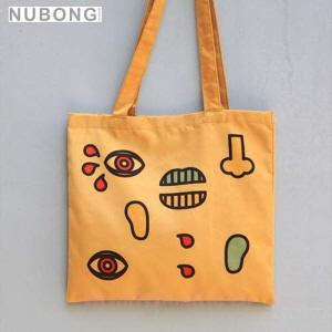 NUBONG Nuvento X Campergraphic Camp Eco Bag Face,NUBONG