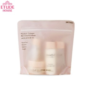 [mini] ETUDE HOUSE Moistfull - Collagen Skin Care Kit 4items