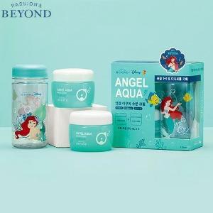 BEYOND Angel Aqua Moist Cream With The Little Mermaid Mini Bottle 3items [BEYOND X Disney]