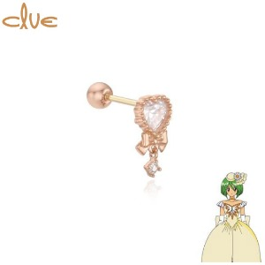 CLUE Magic Wand of Love 10K Gold Piercing (CLE20306T) 1pc [CLUE X Wedding Peach 2nd collaboration]