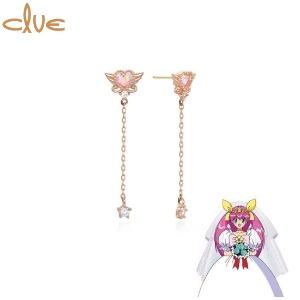 CLUE Wedding Peach Gold Earrings (CLE20314T) 1pair [CLUE X Wedding Peach 2nd collaboration]