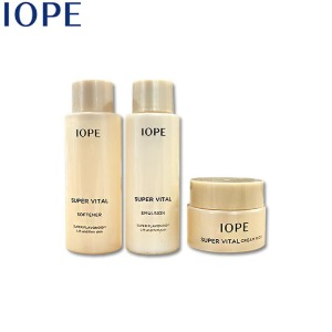 [mini] IOPE Super Vital Skincare Set 3items,Beauty Box Korea,IOPE,AMOREPACIFIC