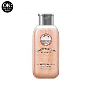 [mini] ON THE BODY Veilment Natural Spa Black Rose Dead Sea Salt Scrub Body Cleanser 200ml,Beauty Box Korea