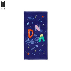 BTS Music Theme Both Sides Printing Face Towel 1ea