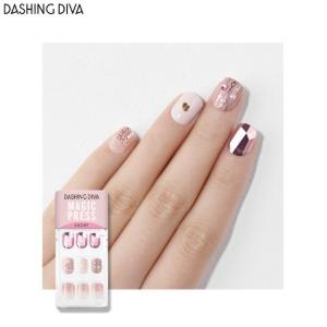 DASHING DIVA Magic Press Short 1ea [Glitter Bomb]