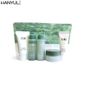 [mini] HANYUL Pure Artemisia Watery Calming Travel Kit 4items,Beauty Box Korea