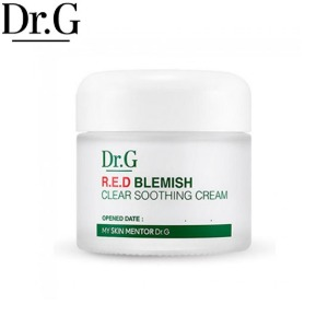 DR.G RED Blemish Clear Soothing Cream 70ml,Beauty Box Korea,Dr. G,Dr. G