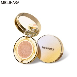 MIGUHARA All day Whitening Ampoule Fit Cushion SPF50+ PA++++ 15g