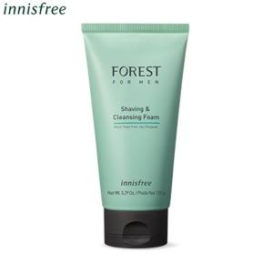 INNISFREE Forest For Men Shaving & Cleansing Foam 150ml,INNISFREE