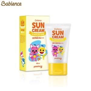 BABIENCE Baby Mild Sun Cream SPF40 PA+++ 60ml [BABIENCE X PINKFONG],Beauty Box Korea,BABIENCE,LG HOUSEHOLD & HEALTH CARE Ltd.