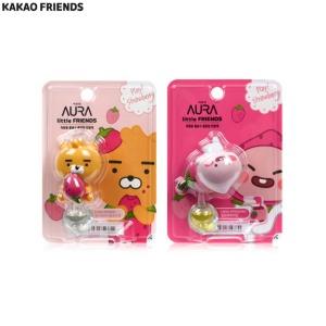 KAKAO FRIENDS Car Air Freshener Strawberry Edition 2ml [AURA X LITTLE FRIENDS]
